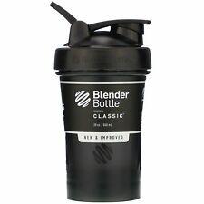 Shaker Blender Bottle  Classic With Loop  Black  20 oz / 600 ml ***NEW***