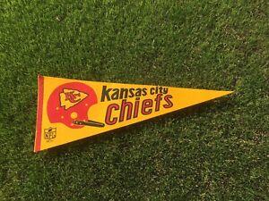 Vintage Pennant 1967 NFL Football Kansas City Chiefs One Bar