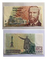 £100 Charles Stewart Parnell Irish Bank Note