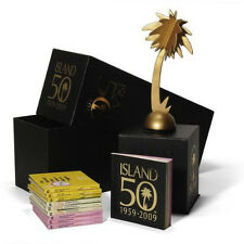 ISLAND 50 YEARS 1959-2009, VARIOUS, LIMITED SUPER DELUXE 9 CD BOX SET (SEALED)