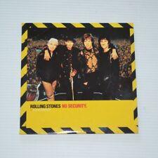 ROLLING STONES - NO SECURITY SAMPLER - 1998 CD 5-TRACKS PROMO