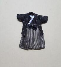 LATI YELLOW CLOTH BLACK & WHITE BOY KIMONO JACKET OUTFIT