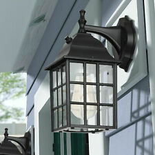 DEWENWILS Outdoor Dusk to Dawn Wall Light Fixture Exterior Wall Sconce for Porch