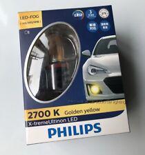 Philips X-treme Ultinon 2700K Jdm Golden Yellow H8 H11 Led Fog Lights Lamps set