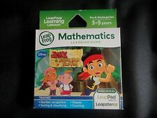 NEW Leapfrog Leapster Explorer JACK AND PIRATES Leap Pad 2,3,GS, XDi Ultra