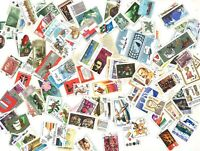 POLAND 1000 DIFFERENT MIXED STAMPS USED OFF PAPER IN BAG