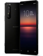 Sony Xperia 1 II schwarz 256GB Android Smartphone 6.5