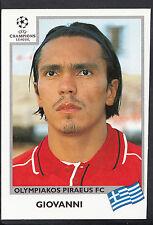 PANINI CALCIO ADESIVO-UEFA CHAMPIONS LEAGUE 1999-00 - N. 184-OLYMPIAKOS