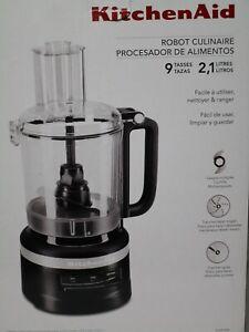 NEW KitchenAid 9-Cup Food Processor KFP0918 / Matte Black