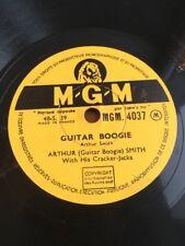 78 RPM ARTHUR SMITH - GUITAR BOOGIE - CARELESS HAND - MGM 4037