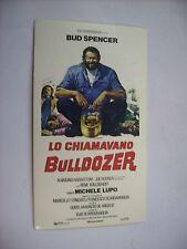 LO CHIAMAVANO BULLDOZER - RARO CINEADESIVO 7X12 CM - NUOVO - BUD SPENCER