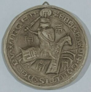Graf Eberhard der Scheerer 1280 - 1301 Medieval Reproduction seal