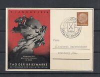 Deutsches Reich - Privatganzsache - Tag der Briefmarke