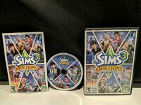 Sims 3: Ambitions PC CD-Rom 2010 Windows Mac expansion pack addon