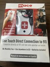 MACE ALERT 911 - ONE TOUCH DIRECT CONNECTION EMERGENCY DEVICE - CALLS 911
