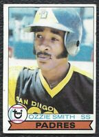 1979 Topps Ozzie Smith Vintage Rookie Baseball Card RC #116 SD Padres VG VG-EX