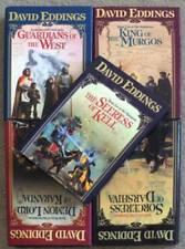 THE MALLOREON SERIES SET OF 5 ~ DAVID EDDINGS ~ HC ~ FIRST EDITIONS ~ LOT 57