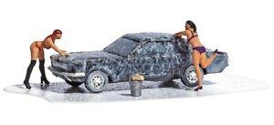HO Scale Accessories - 7824 - Action Set - Car Wash