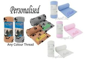 Personalised Dog Blanket Puppy Kitten Cat Bed Cover Pet blanket puppy comforter