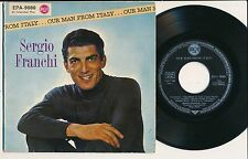 "SERGIO FRANCHI 45 TOURS EP 7"" GERMANY OUR MAN FROM ITALY"