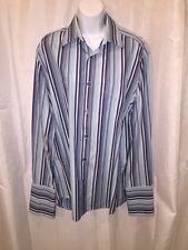 NWT authentic PAUL SMITH dress shirt w/french cuff  Size 15 1/2 39