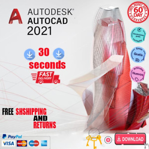 Autodesk AutoCAD 2021💡 3 Years Instant Delivery 5s ⏳📥  {mac and windows}