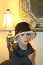 Wonderful Wilson Leather Plush Lined Vintage Hat / L/Xl