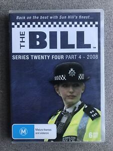 DVD - THE BILL SERIES TWENTY FOUR PART 4 (2008)  -  PAL Region Free