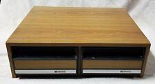 VHS Video 24 Tape 2 Drawer Storage Cabinet Case Box Organizer VIDEOSTAK VGC