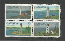 CANADA 1984 LIGHTHOUSES 1ST SERIES SG,1128-1131 UM/M NH LOT 4976A