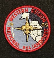 Boy Scout 1985 National Jamboree BSA Western Region PP Pocket Patch STAFF MINT