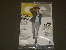 2013 APRIL GQ MAGAZINE - BRUNO MARS COVER - B 2850