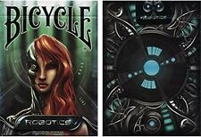 New deck Bicycle Robotics Playing Cards by Collectable Playing Cards - Trick