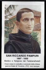 santino-holy card*S.RICCARDO PAMPURI