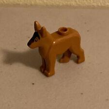 Lego Mini Figura 1 Cachorro Pastor Alemão Novo