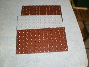 Lego Duplo Platte Platten Bauplatten 6 x12 Noppen 3 Stück (S2)