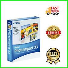 🛑 🛑 Ulead Photo Impact 13 PhotoImpact 13 X3 photo editing software vector