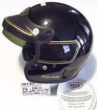 """NEW NOS BELL U.S.A. """"Tour Lite"""" Black Street Helmet w/original BOX 7-1/4 58CM"""