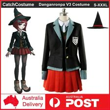 Danganronpa V3 Killing Harmony Yumeno Himiko Cosplay Costume Uniform with Hat
