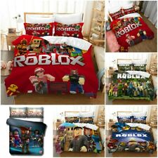 Us Stock Roblox Bedding Set 3Pcs Duvet Cover Pillowcase Kids Adults Quilt Cover