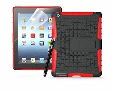 HEAVYDUTY TOUGH SHOCKPROOF WITH KICKSTAND HARD CASE COVER FOR APPLE iPAD TABLETS