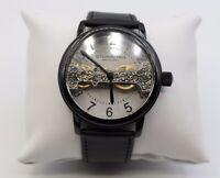 Stührling Original Skelett Automatic Uhr Ref.Nr.: St-90050 schwarz - sehr gut -