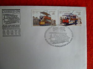 1989 TRAMWAYS SOUVENIR COVERS BOX HILL - DANDENONG PMK WITH CACHET CARRIED