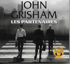 LIVRE AUDIO MP3 / JOHN GRISHAM : LES PARTENAIRES - THRILLER - NEUF