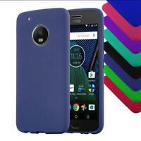 Custodia Cover Silicone per Motorola Case Satinata Colori TPU Gel Protezione