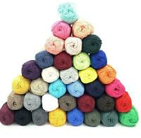 Vintage Cotton Knitting DK Yarn 100g Wool Ball Crochet Craft Machine Washable