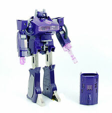 Transformers G1 Decepticon SHOCKWAVE UNUSED MINT REISSUE No Original Box