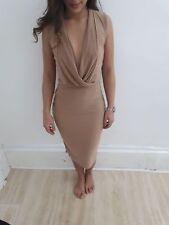 Plunging neckline dress free p+p