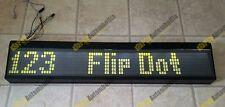 Hanover M504C 84x7 Flip Dot Bus Coach Destination Display Home Office 24V LED