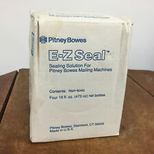 Ez Seal Pitney Bowes Sealing Solution for Mailing Machine Four 16 oz. Bottles